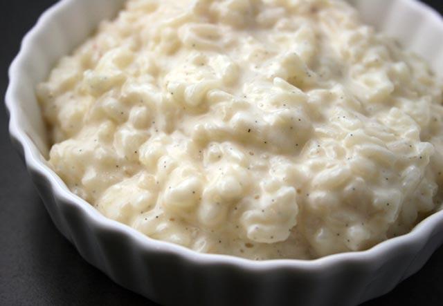 Kremasti puding od riže