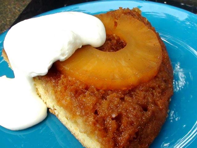 Naopaki kolač sa ananasom