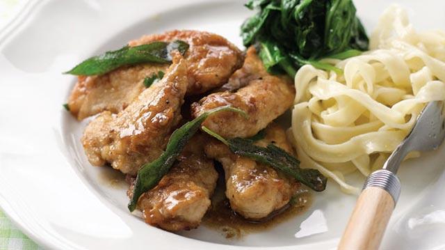 Piletina sa žalfijom
