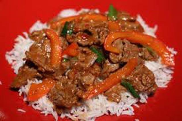 Azijska teletina sa povrćem
