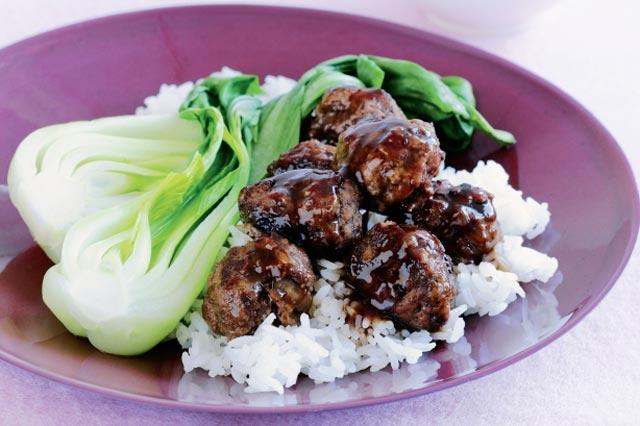 Azijske mesne okruglice