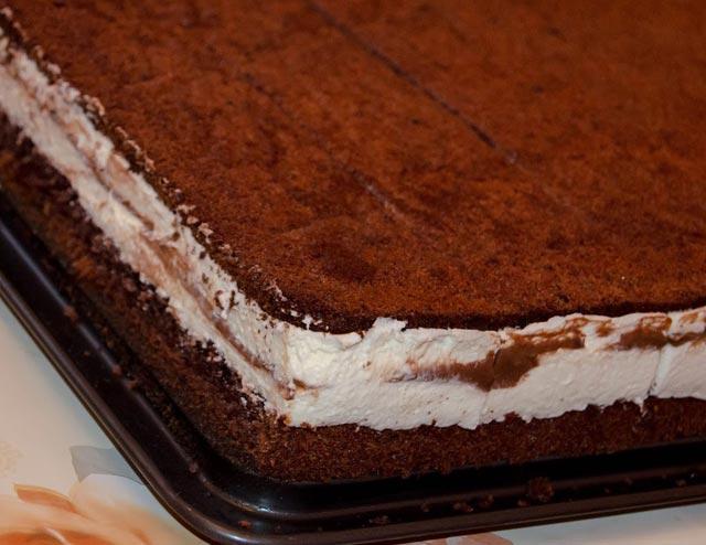 Dvobojni kolač od griza