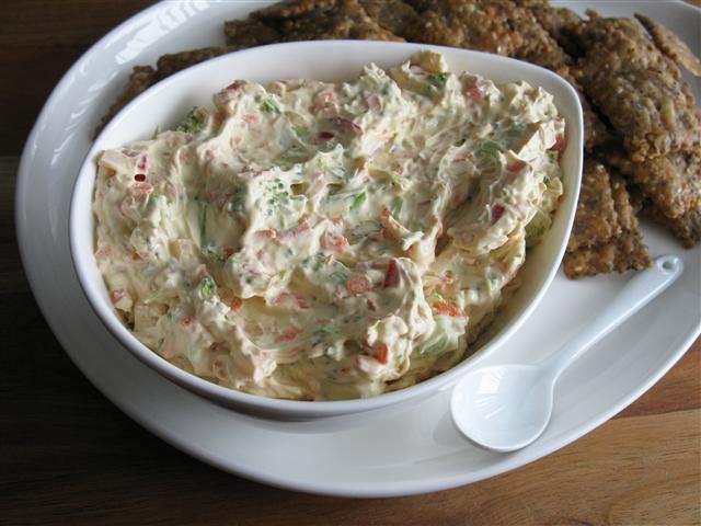 Hladna salata od dinstanog povrća