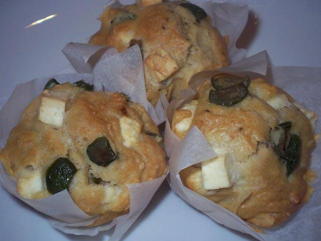Muffini sa fetom i maslinama