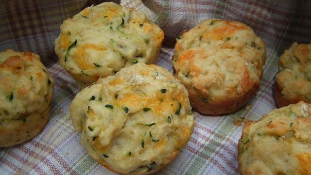 Muffini sa sirom i tikvicama