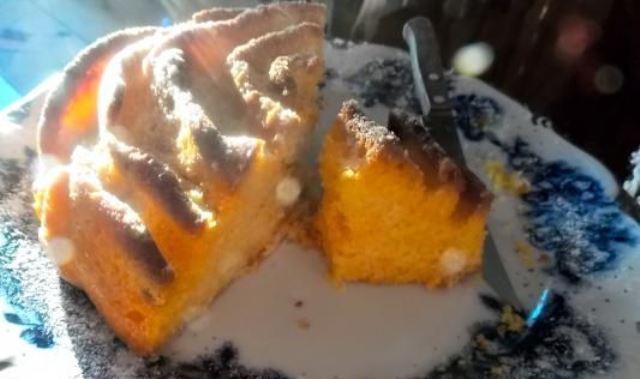 Narandža ruža kolač