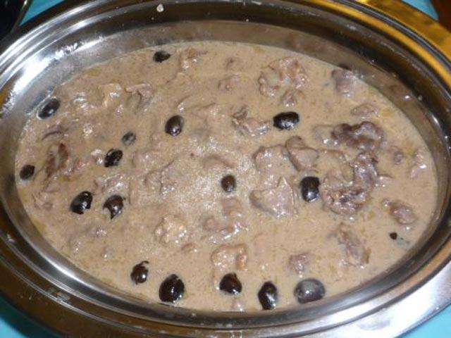 Šnicle u bijelom sosu