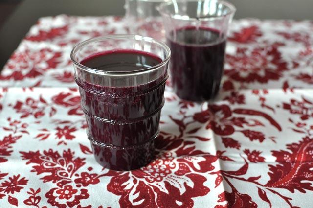 Domaći sok od grožđa
