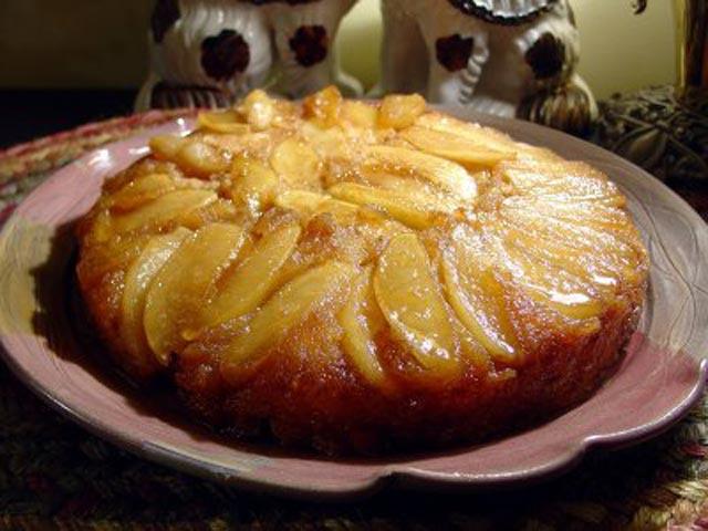 Naopaka jabuka torta