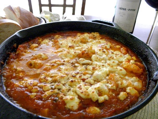 Zapečena feta sa paradajzom