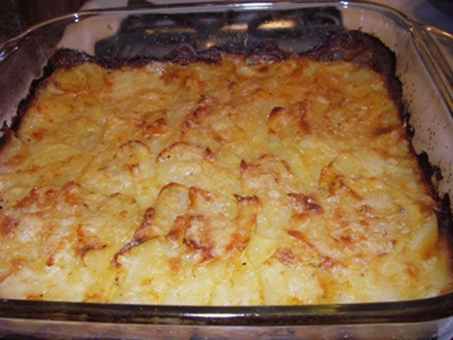 Krompir sa vrhnjem