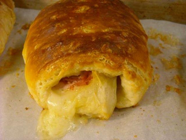 Šunka-sir kifle