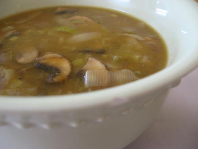 Supa od krompira i gljiva