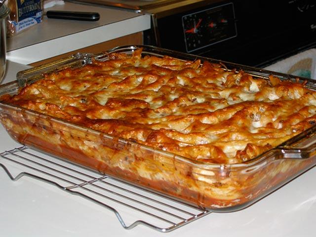 Zapečena tjestenina