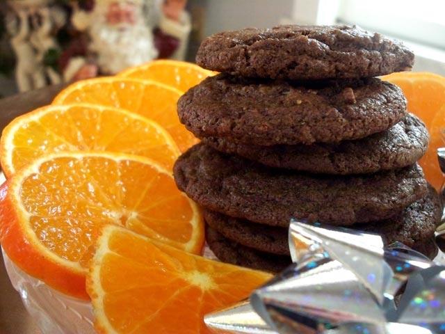 Čokoladni keksi sa narandžom