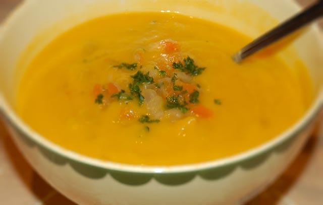 Krem supa od mrkve i poriluka