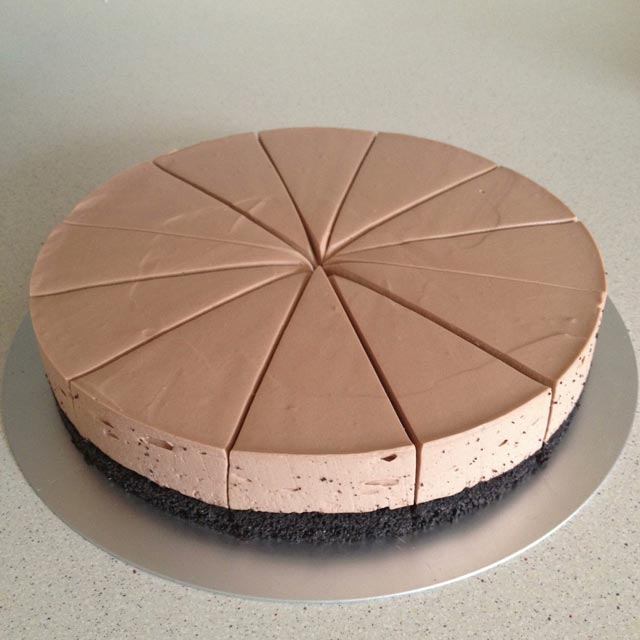 Cheesecake oreo nutella