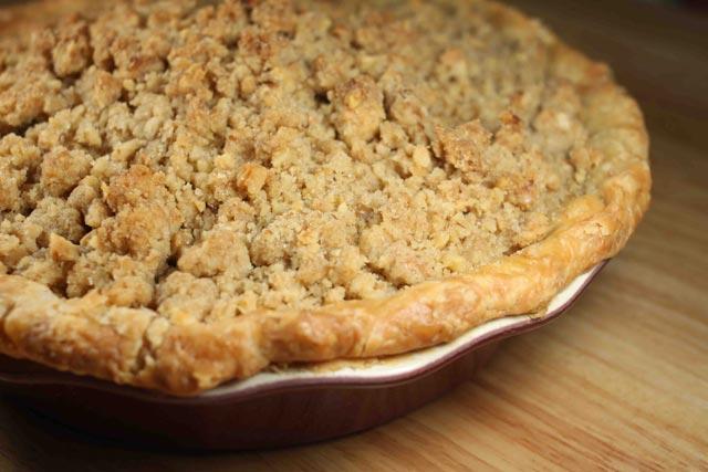 Mrvičasta pita od jabuka