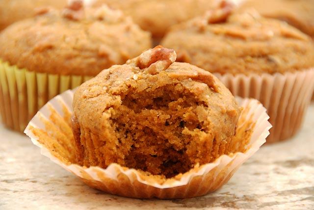 Muffini sa tikvom i orasima