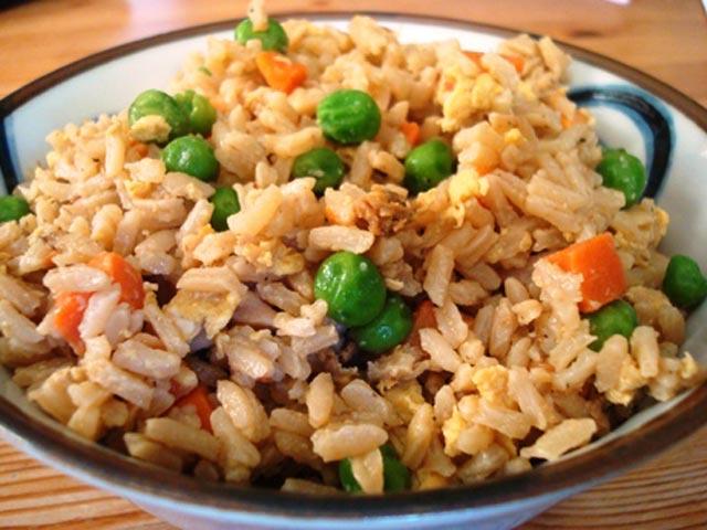 Zapržena riža