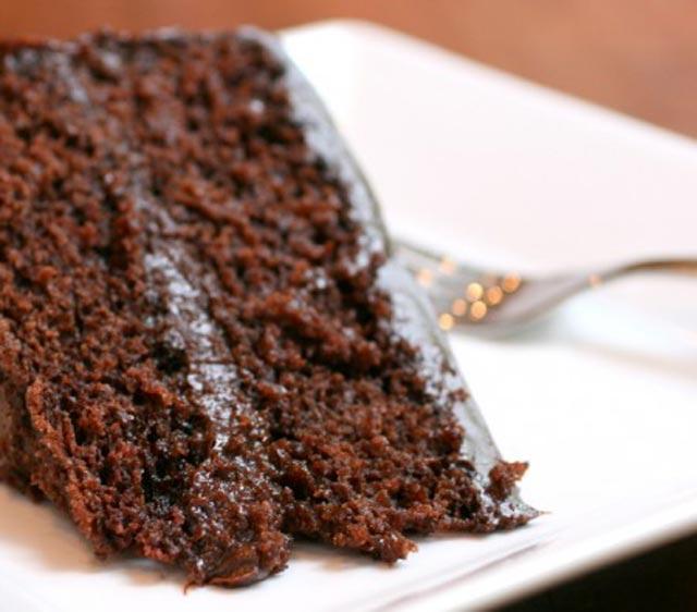 Beskrajno sočna čokoladna torta