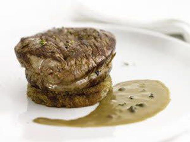 Biftek sa sosom