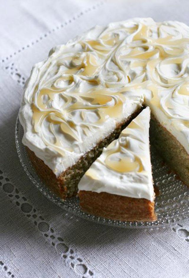 Limun-mascarpone torta