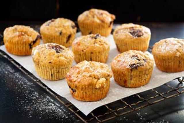 Muffini sa bijelom čokoladom