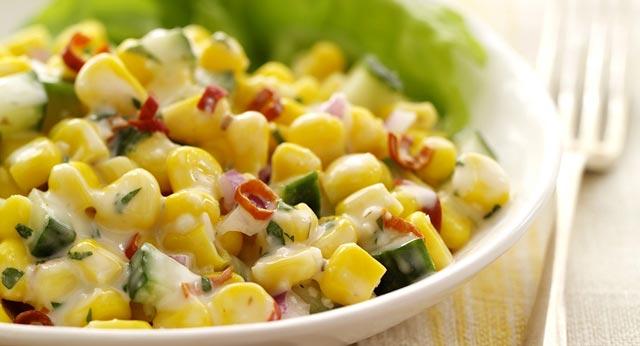 Salata od krastavca i kukuruza