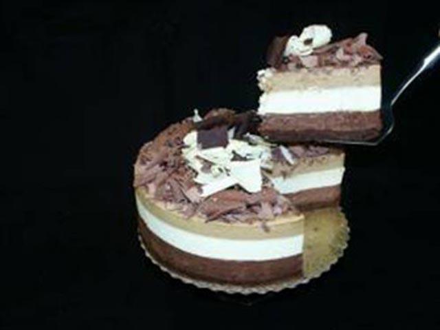 Tročokoladna torta