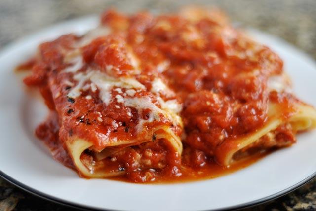 Cannelloni sa tri vrste sira