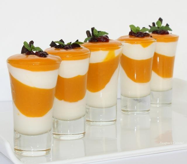 Jogurt-mango čašice