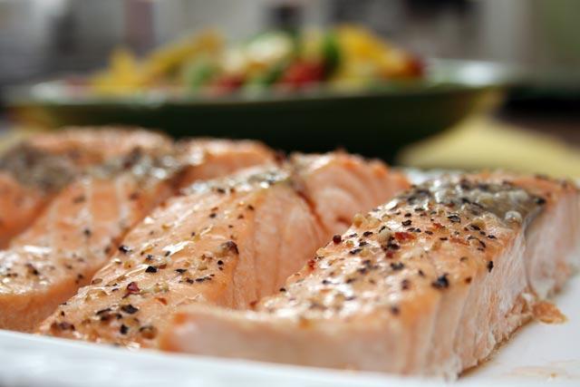 Polako pečeni losos
