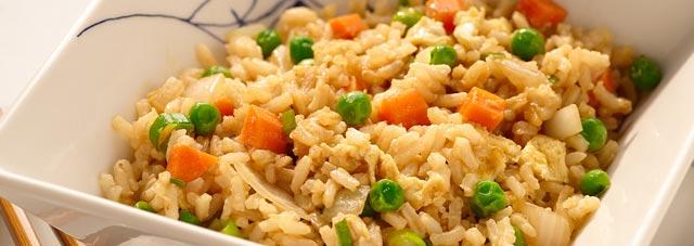 Riža sa povrćem iz rerne