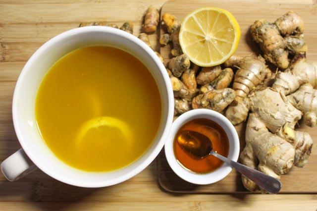 Čaj od kurkume i đumbira