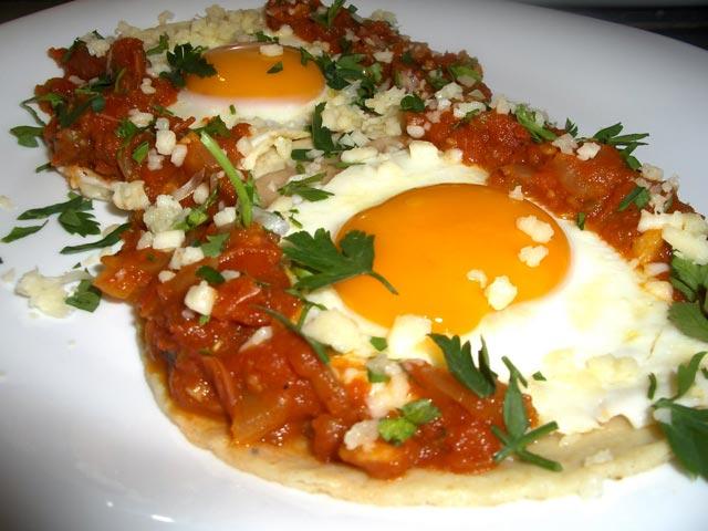 Jaja na meksički