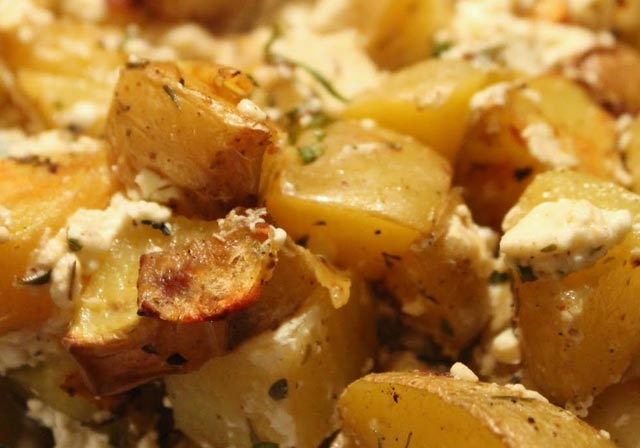 Mirisni krompir sa fetom
