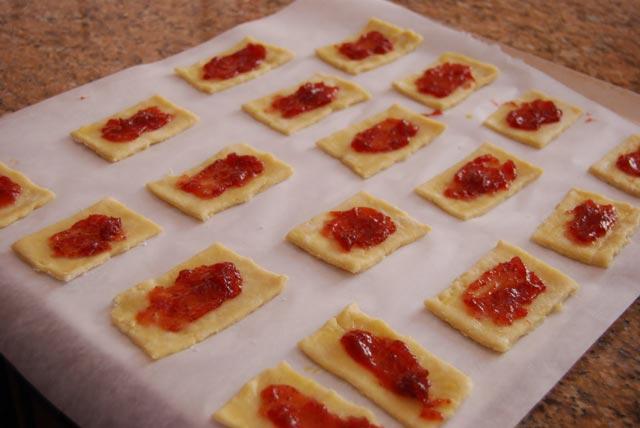 Štrudlice sa džemom