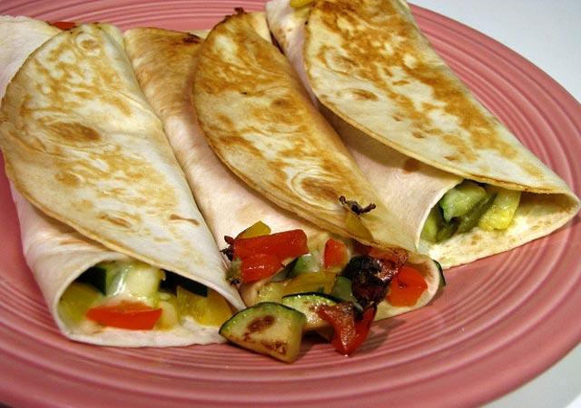 Tortilje sa povrćem