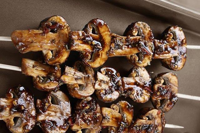 Marinirane roštiljske gljive