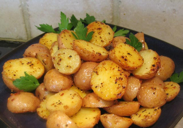 Pečeni mladi krompir