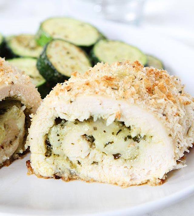 Piletina punjena gorgonzolom