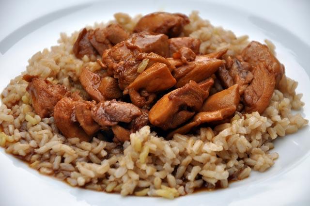 Piletina u soja sosu