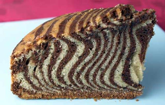 Zebrasti kolač