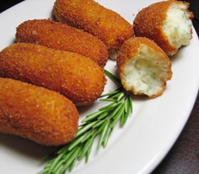 Kroketi od krompira sa sirom