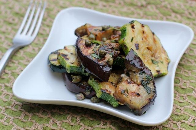 Salata od patlidžana i tikvica