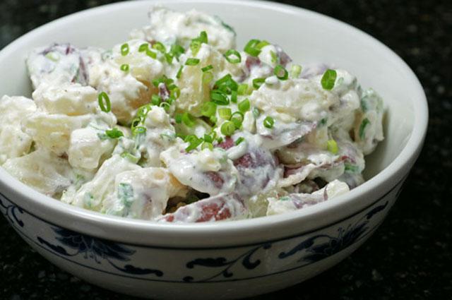 Krompir salata sa preljevom
