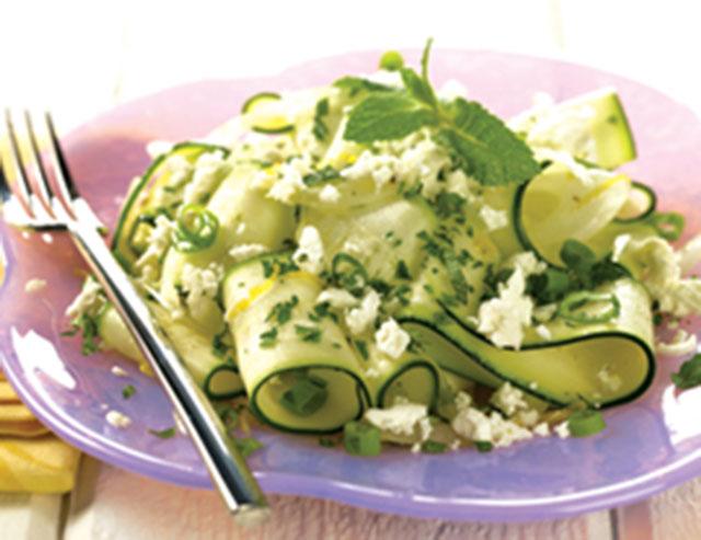 Salata od svježih tikvica
