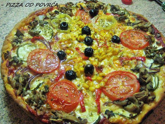 Pizza od povrća